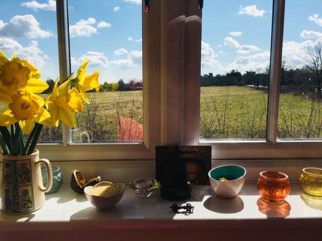 'My windowsill shrine' Angela