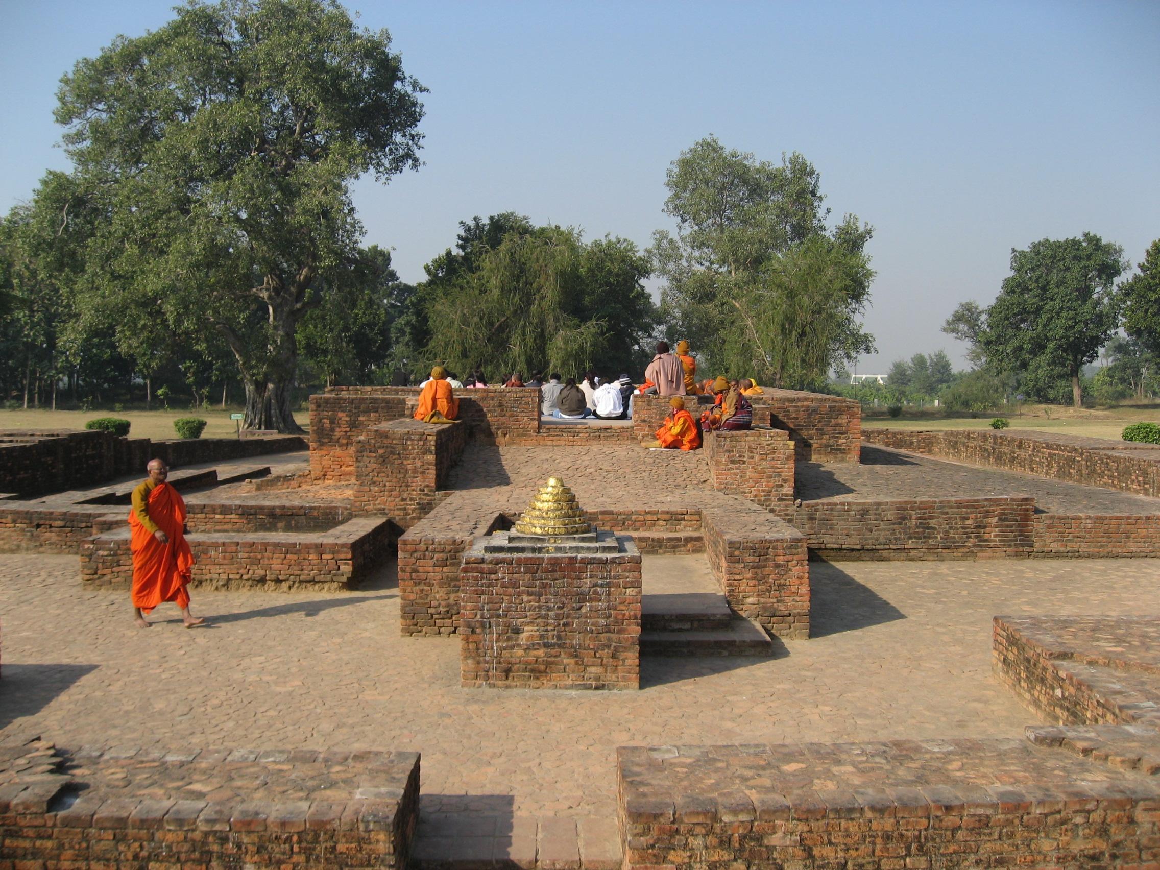 Gandhakuti (Buddha's hut) in Jetavana
