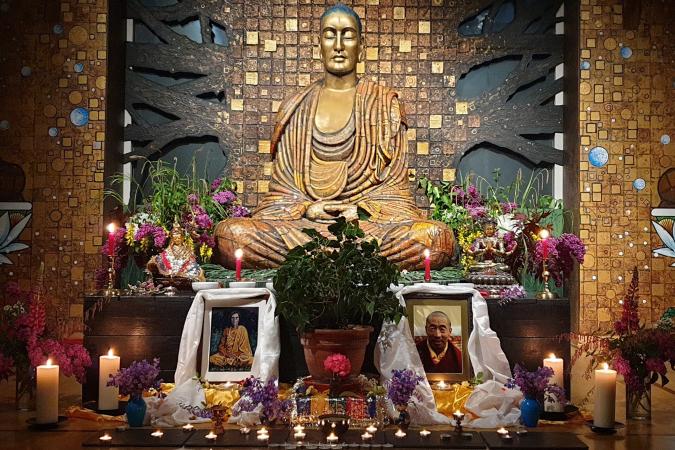 Padmaloka Wesak Shrine